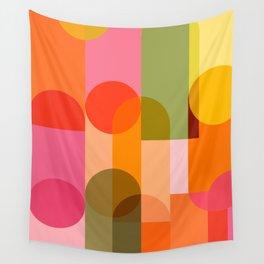 Ping Pong - brights Wall Tapestry