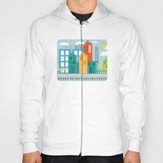 Geometric City Hoody