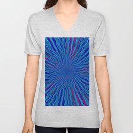 radial layers 4 Unisex V-Neck