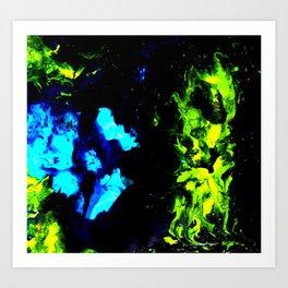 Fire and Brimstone Art Print