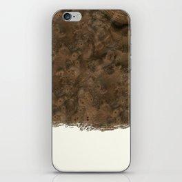 Dipped Wood - Walnut Burl iPhone Skin