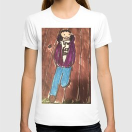 New Goth Boy hanging out  T-shirt