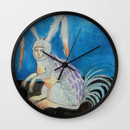 Lepus Gallus -- Creature Series Wall Clock