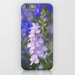 larkspur -1- iPhone Case