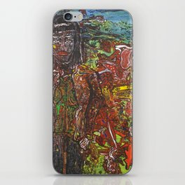 the apparition of Nico during a psychedelic dream iPhone Skin