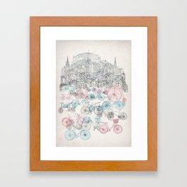 Old Town Bikes Framed Art Print