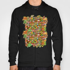 In Christmas melt into the crowd and enjoy it Hoody
