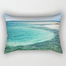 Belize Blues Rectangular Pillow