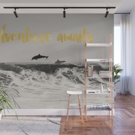 Dolphins Adventure Awaits Wall Mural