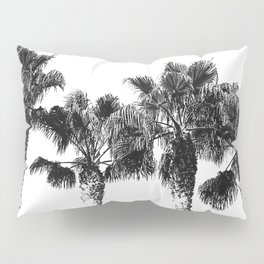 Tropical Palm Tree Photography {2 of 2} | Black and White Pillow Sham