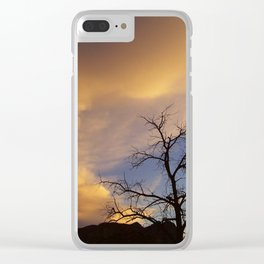 Stillness Clear iPhone Case