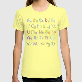 Zoopha Alphabet Beasties Aa-Zz T-shirt