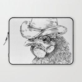 Cowboy cock Laptop Sleeve