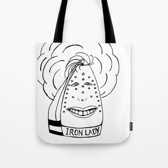 Iron Lady Tote Bag