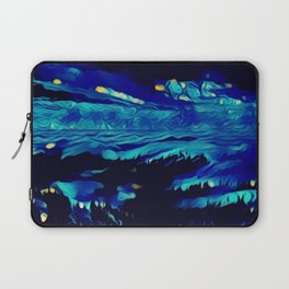 Bioluminescent Surf Laptop Sleeve