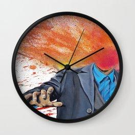 Detective Wall Clock