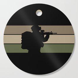 Soldier Cutting Board