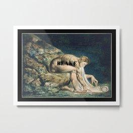 William Blake, Isaac Newton Metal Print