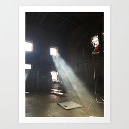 Throw a Light on the Asylum Art Print