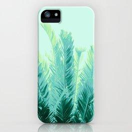 Tropical Leaves Dream #1 #tropical #decor #art #society6 iPhone Case