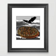 Eagelpizza Framed Art Print