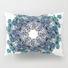 Indigo Bloom Portuguese Tiles – Porto Pillow Sham