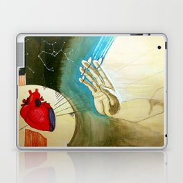 Crossing Worlds Just To Reach You Laptop & iPad Skin