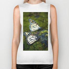 Monarch Butterfies Biker Tank