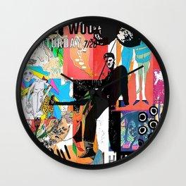 Still Woozy Wall Clock