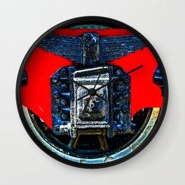 Vintage Railway Car Wheel Wall Clock