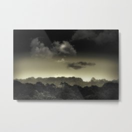 Stored in the Cloud Metal Print