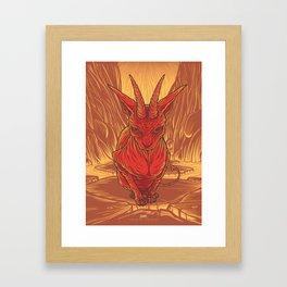 Lovely Dark Creatures series - Aestas Framed Art Print