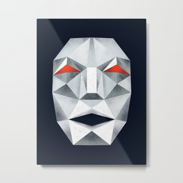 Star Fox Andross Lylat Lowpoly Laugher Metal Print