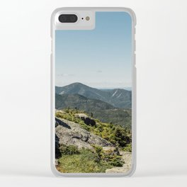 Mount Marcy I Clear iPhone Case