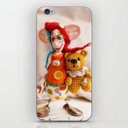 Teddy Bear Doll iPhone Skin