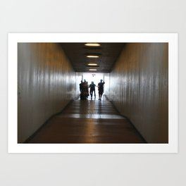 The long walk. Art Print