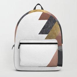 Valley, Scandinavian Modern Abstract Backpack