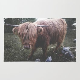 Highland cow Rug