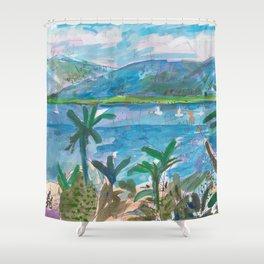 Cairns Esplanade Shower Curtain