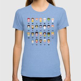 Princess Alphabet T-shirt