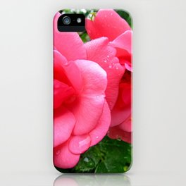 roses after rain iPhone Case