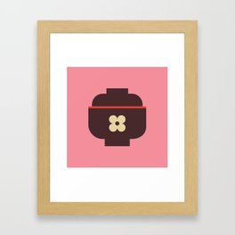 Japan Rice Bowl Framed Art Print