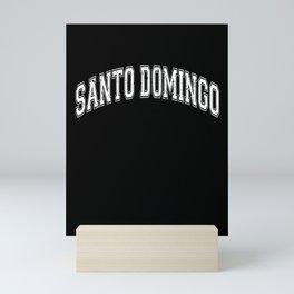 Santo Domingo City Capital of Dominican Republic Mini Art Print
