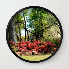 Muscogee (Creek) Nation - Honor Heights Park Azalea Festival, No. 09 of 12 Wall Clock