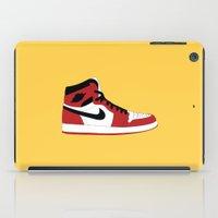 air jordan iPad Cases featuring Air Jordan 1 by Dennis Cortes