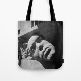 Face from Iona Abbey Tote Bag