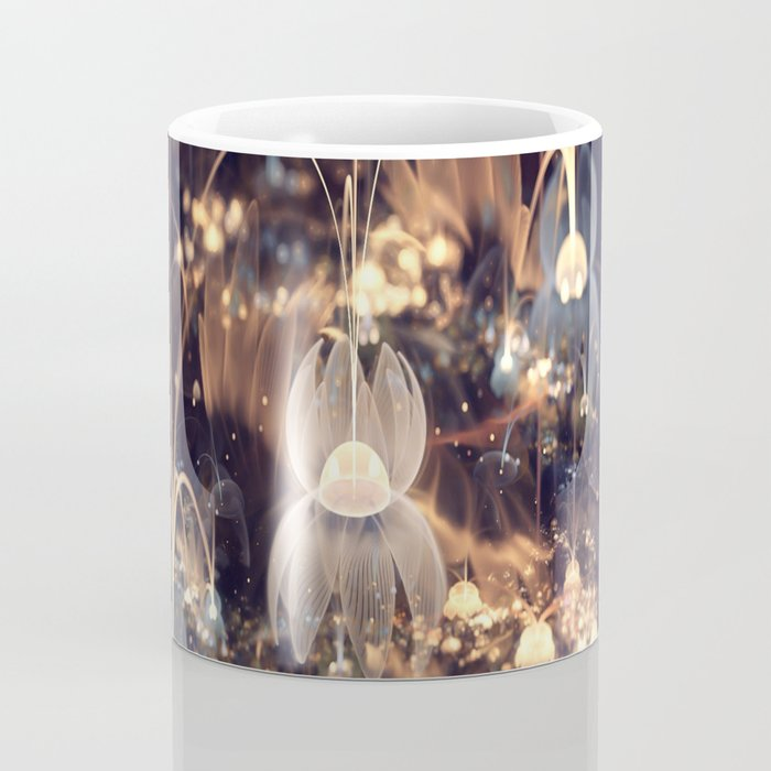 3D Color Flower Coffee Mug