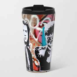 Art Is A Weapon Vince & Jules Travel Mug