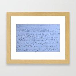 Exhibit B: One Barn Horse Framed Art Print