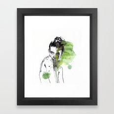 small piece 30 Framed Art Print